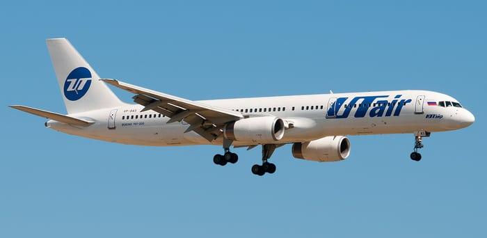 Боинг 757 ЮТайр