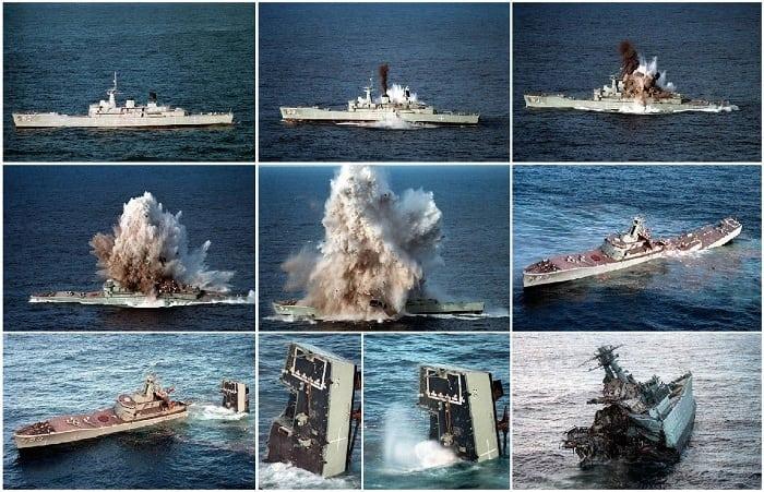 Боевое применении парогазовой торпеды