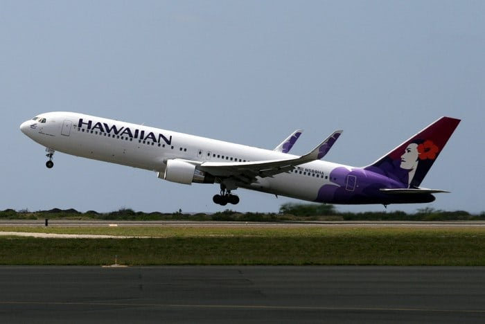 Boeing 767-300ER взлёт