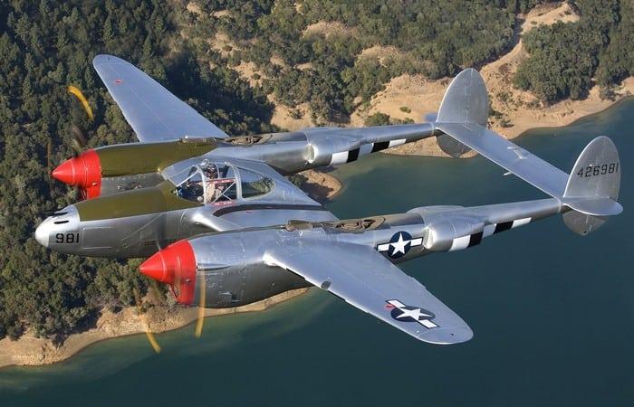 Lockheed P-38 картинка