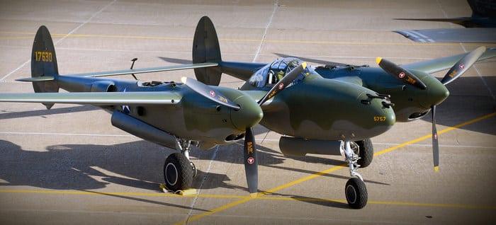 Самолёт P-38F