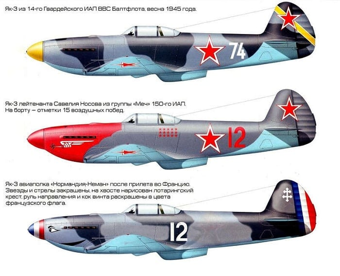 История самолета Як-3