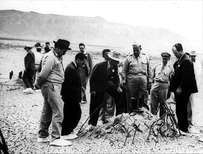 Испытания Атомной Бомбы 16 Июля 1945