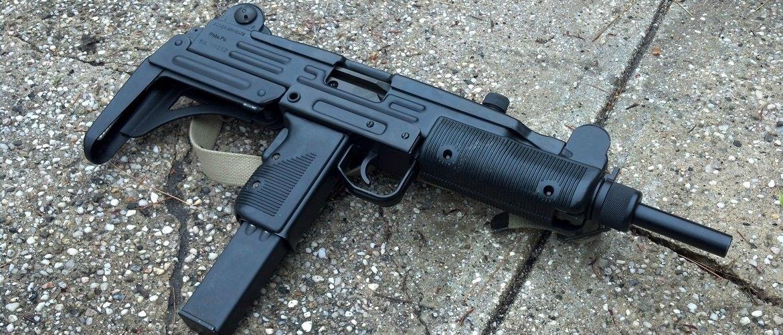 Израильский пистолет- пулемёт Узи