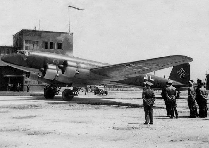 Личный самолет Гитлера FW200