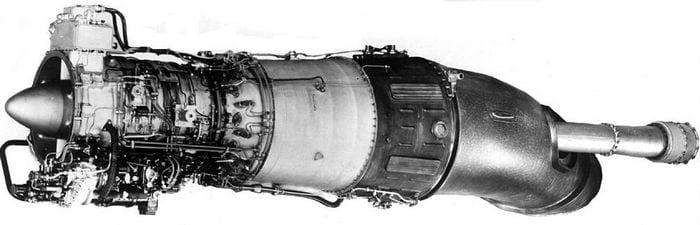 Авиационный двигатель д-25В