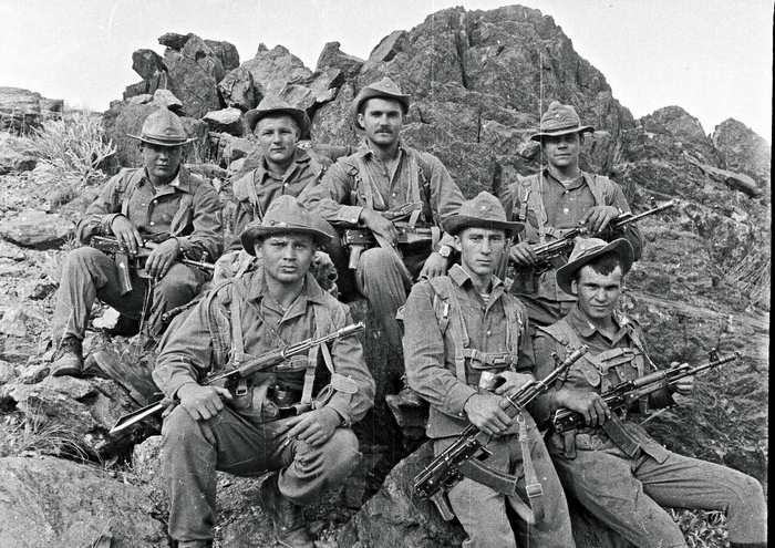 Десантники в Афганистане