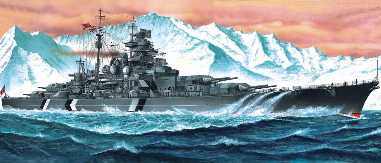 Линкор Бисмарк картинка