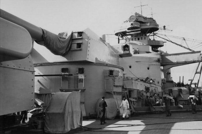 Башни линкора Бисмарк