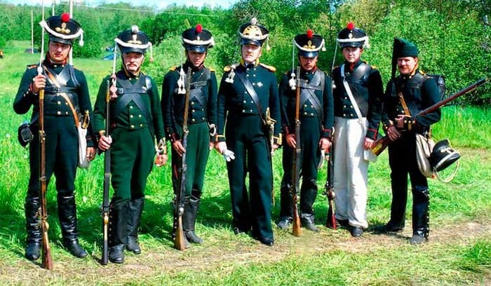 Спецназ русской императорский армии - Егеря
