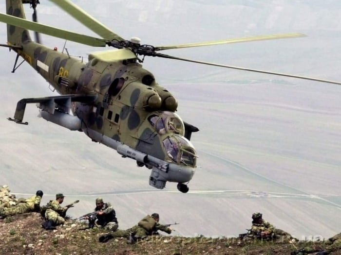 Ми-24 на войне