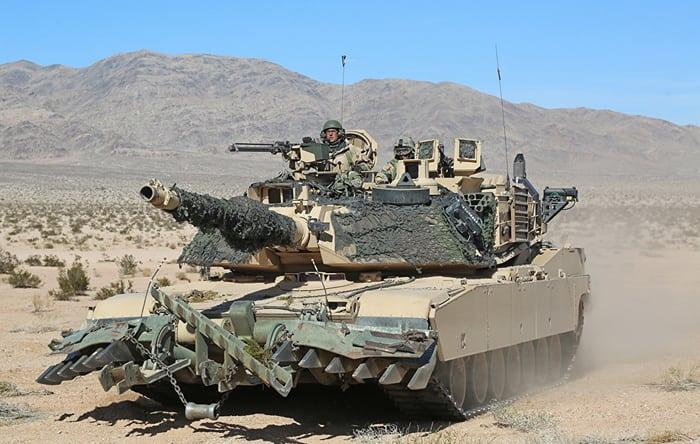 Армия США танкM1 Abrams