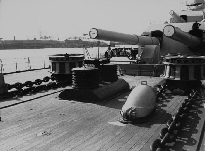 Бисмарк орудие