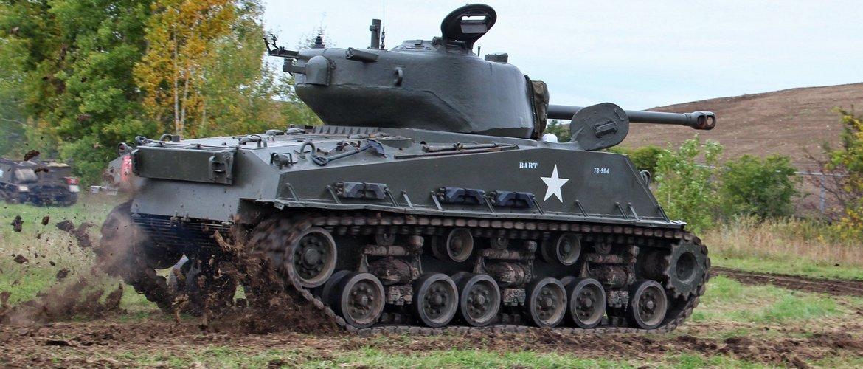 Танк м4 Шерман