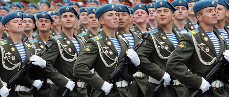 Десантники в парадной форме