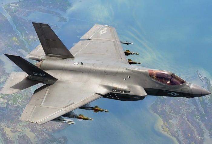 f -35c самолёт оружие
