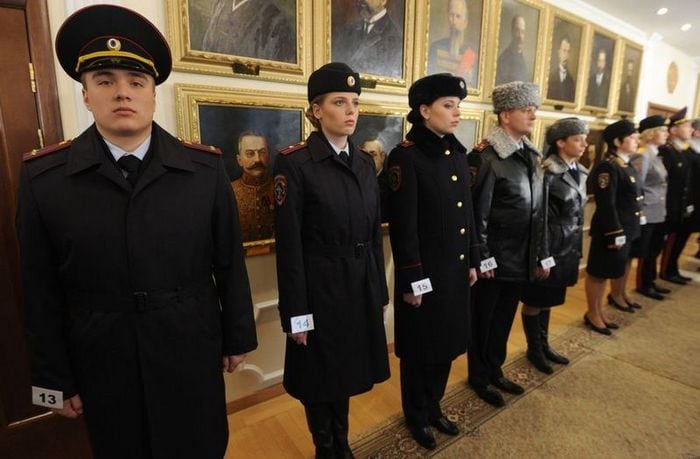 Форма полиции России