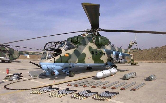 Вооружение Ми-24
