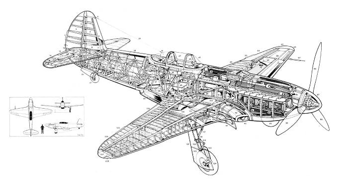 Конструкция Як-3