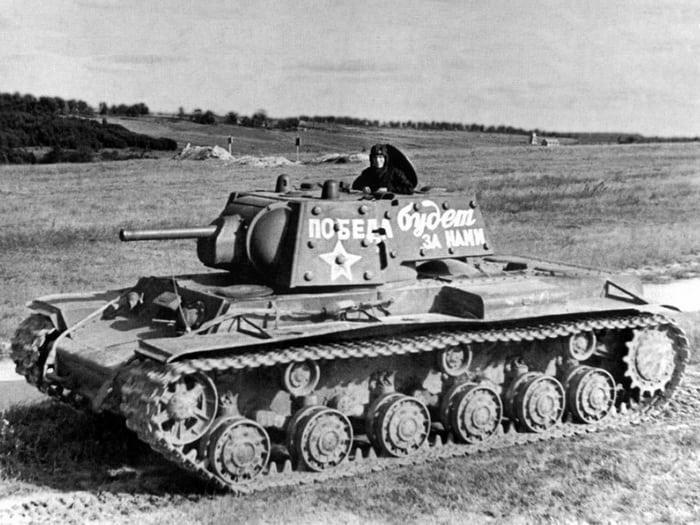 КВ-1 военное фото