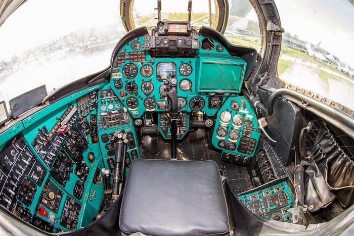 Кабина Ми-24
