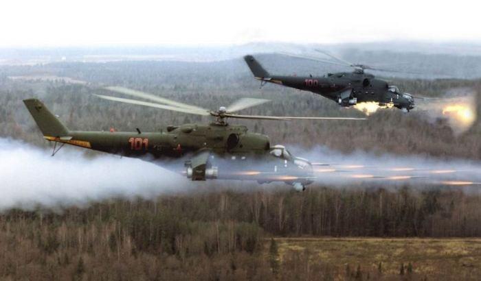 Ми-24 в бою