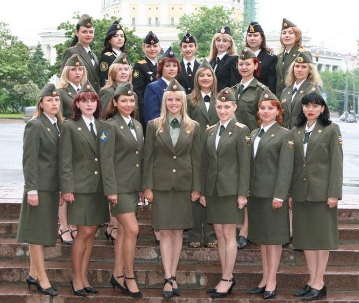 Женская военная форма