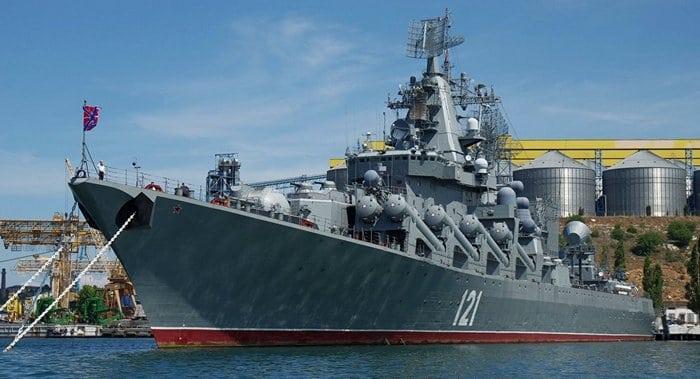 Черноморский флот РоссииКрейсер Москва