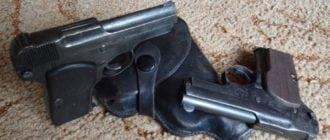 Пистолет Коровина ТК