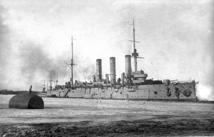 Крейсер «Аврора» 1916 год