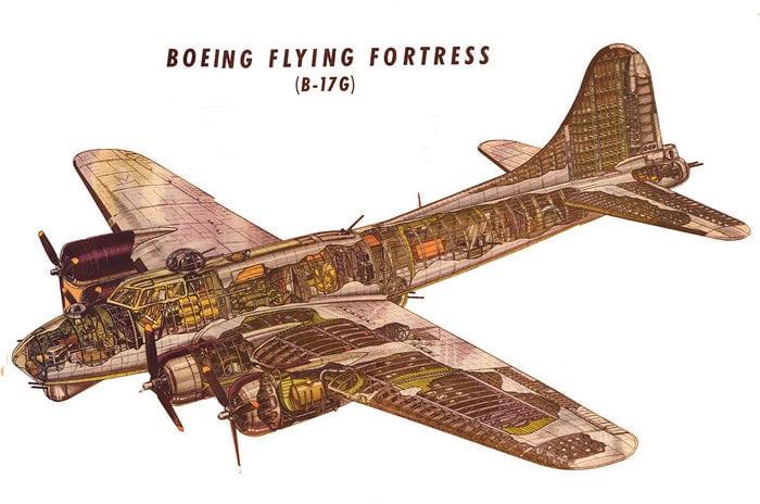 Б-17 конструкция
