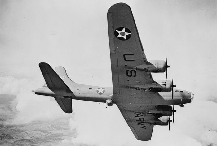 B-17 Летающая крепость