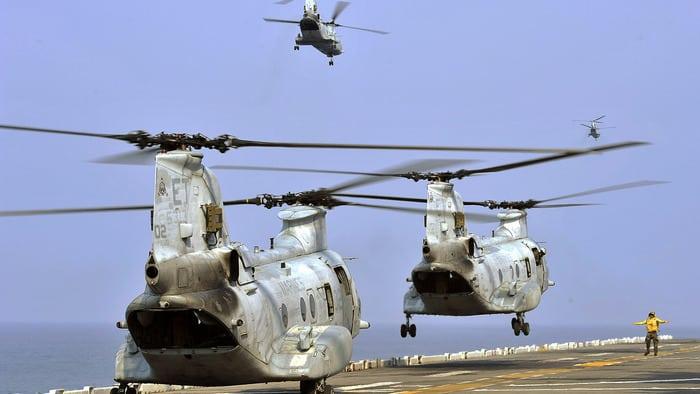 Вертолёт ch-47-chinook