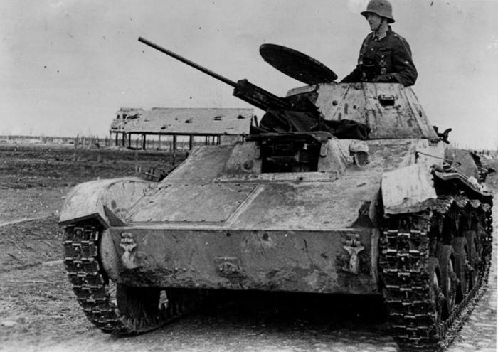 Т-60 на службе вермахта