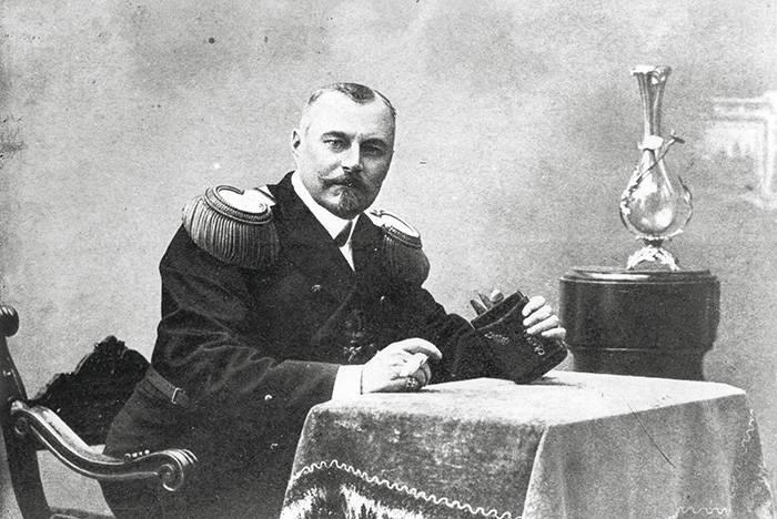 капитан 1 ранга Е.Р.Егорьев