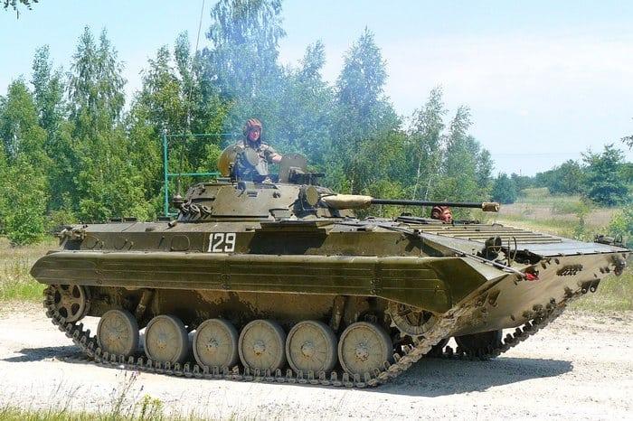 Боевая машина БМП-2
