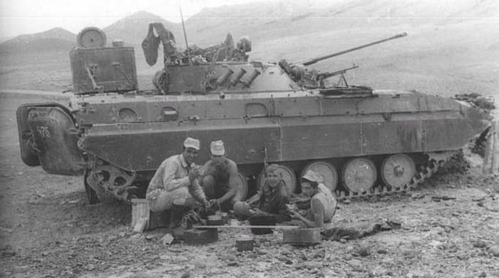 БМП-2 в Афгане
