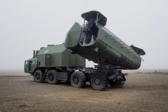 Ракетный комплекс Рубеж