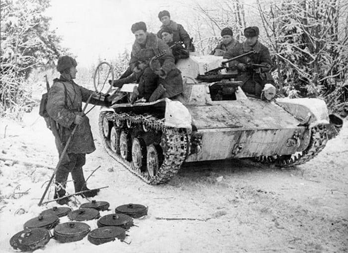 Т-60 фото зимой