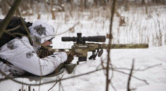 ДВЛ-10 снайпер