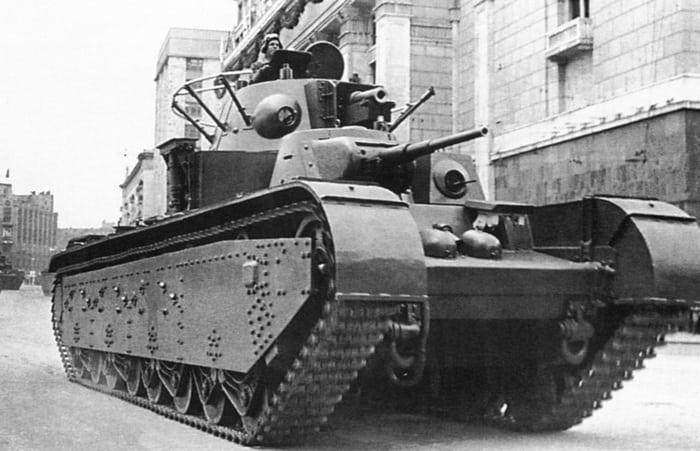 Танк Т35 СССР фото