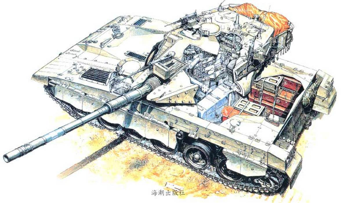 """Основной боевой танк """"Меркава"""""""