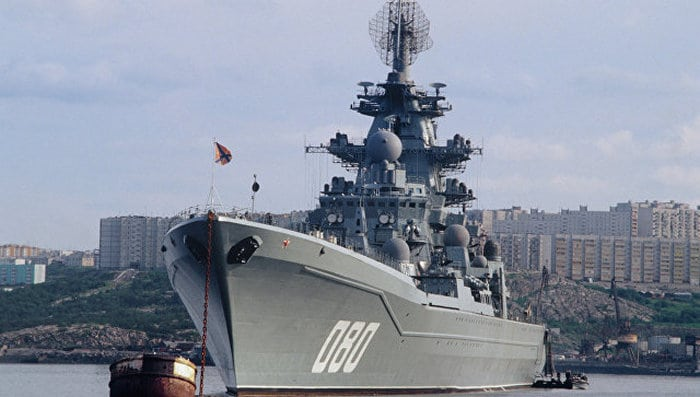 """Адмирал Нахимов"" проект 1144"