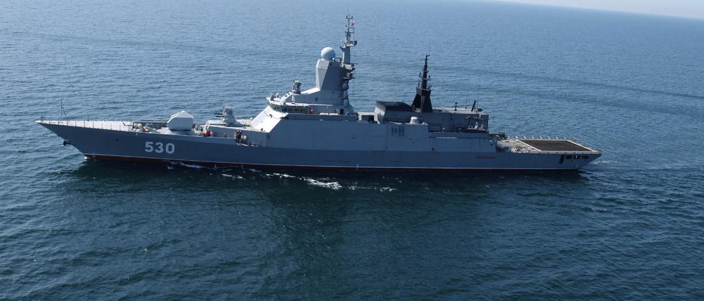Патрульные корабли (корветы) проекта 22160