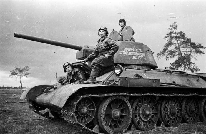 Танк т-34 военные фотографии