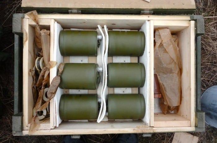 ОЗМ-72 в ящике