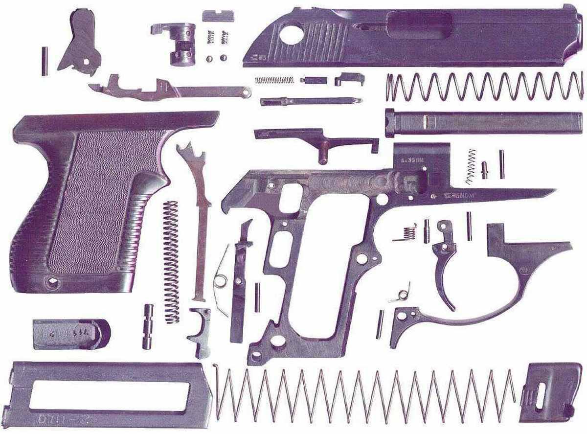 ПСМ пистолет устройство