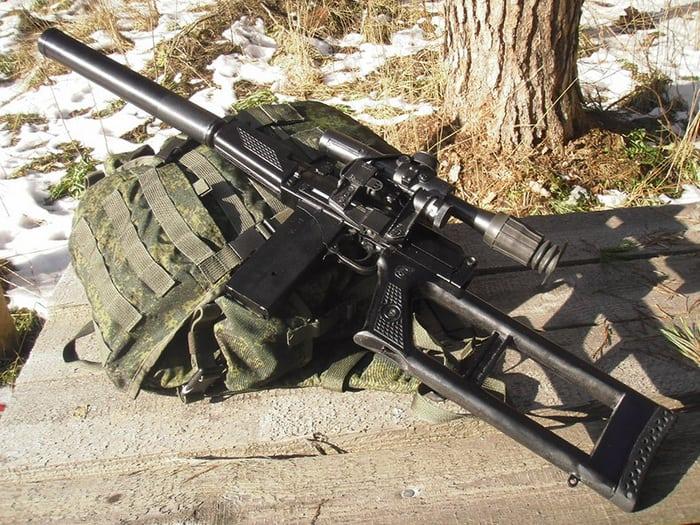 ВСК-94 и рюкзак