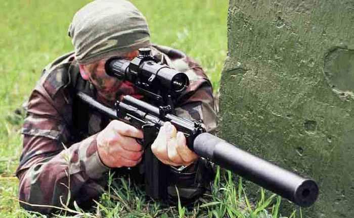 ВКС-94 стрельба