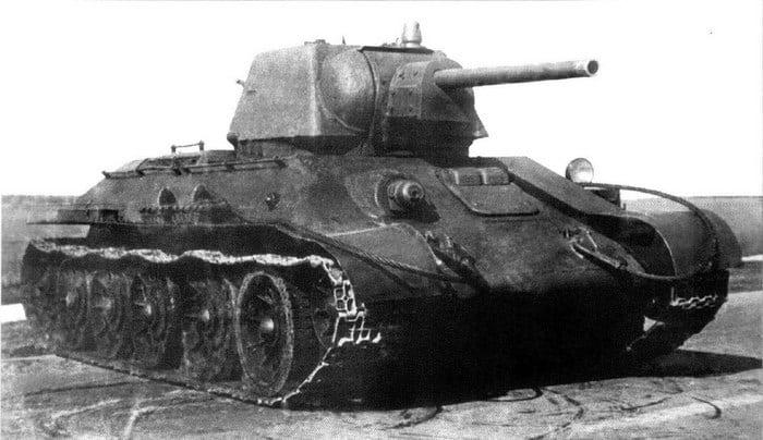 Т 34 огнеметный